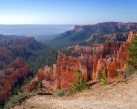 Vista del canyon di Bryce fotografie stock
