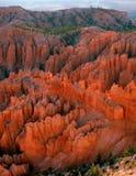 Vista del canyon di Bryce dal punto di Bryce Fotografia Stock Libera da Diritti