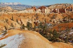 Vista del canyon di Bryce l'utah U.S.A. Immagine Stock