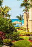 Vista del Caribe Imagen de archivo