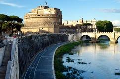 Vista del Castel Sant'Angelo Fotografía de archivo libre de regalías