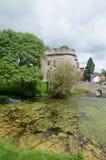 Vista del castello Immagini Stock Libere da Diritti