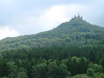 Vista del castello fotografie stock