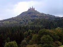 Vista del castello fotografia stock libera da diritti