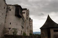 Vista del castello da sopra Immagini Stock Libere da Diritti