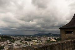 Vista del castello da sopra #2 Fotografia Stock