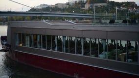 Vista del castello di Bratislava archivi video