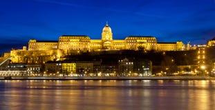 Vista del castello di Buda, Budapest, Ungheria Fotografia Stock