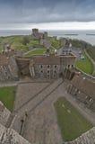 Vista del castello di Dover dalla conservazione Fotografia Stock