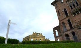 Vista del castello del ` s di Kellie dall'entrata Fotografia Stock Libera da Diritti