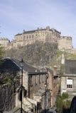 Vista del castillo Fotografía de archivo
