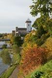 Vista del castillo de Narva Herman Fotos de archivo libres de regalías