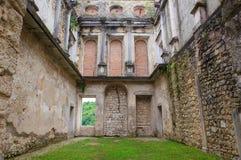 Vista del castillo de Polcenigo Fotos de archivo libres de regalías
