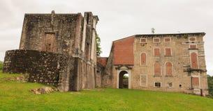 Vista del castillo de Polcenigo Fotos de archivo