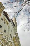 Vista del castillo del salvado, Rumania Imagenes de archivo