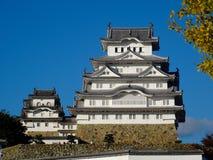Vista del castillo maravilloso de Himeji en Jap?n imagen de archivo libre de regalías