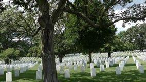 Vista del cementerio nacional de Arlington, Virginia, los E.E.U.U. almacen de video