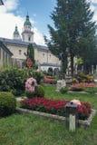 Vista del cementerio del ` s de San Pedro Foto de archivo libre de regalías