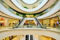 Vista del centro commerciale del centro di Rideau in Ottawa del centro, Canada Fotografia Stock Libera da Diritti