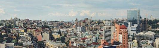 Vista del centro de ciudad fotografía de archivo libre de regalías