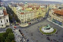 Vista del centro de ciudad de Praga Fotografía de archivo