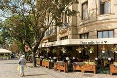 Vista del centro del centro storico della città di Timisoara Fotografia Stock Libera da Diritti