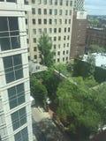 Vista del centro di Filadelfia dal decimo pavimento Fotografia Stock Libera da Diritti