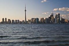 Vista del centro di Toronto Fotografia Stock