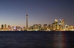 Vista del centro di Toronto Fotografia Stock Libera da Diritti