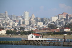 Vista del centro, San Francisco, California, U.S.A. Fotografia Stock