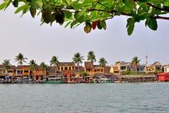Vista del centro storico di Hoi An, Vietnam Immagini Stock Libere da Diritti