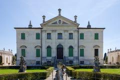 Vista del chalet Cordellina Lombardi en Montecchio Maggiore, VE Foto de archivo libre de regalías