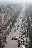 Vista del Champs Elysées Fotografia Stock Libera da Diritti