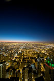 Vista del Chicago edificio del Hancock Fotografia Stock Libera da Diritti