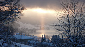 Vista del cielo Foto de archivo libre de regalías