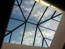 Vista del cielo Fotografie Stock Libere da Diritti
