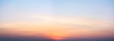 Vista del cielo con le nuvole Immagine Stock Libera da Diritti