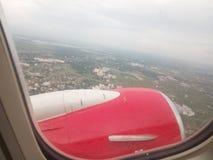 Vista del cielo del Bangladesh Fotografia Stock