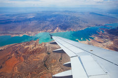 Vista del cielo del Nevada Fotografie Stock