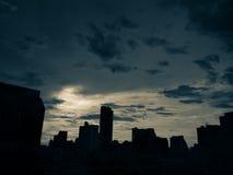 Vista del cielo di Bangkok Immagine Stock Libera da Diritti