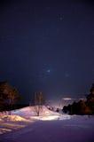 Vista del cielo notturno Fotografie Stock