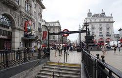Vista del circo de Piccadilly, 2010 Imagen de archivo