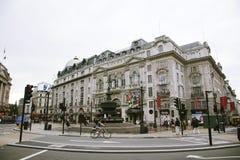 Vista del circo de Piccadilly, 2010 Imágenes de archivo libres de regalías