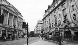 Vista del circo de Piccadilly, 2010 Imagen de archivo libre de regalías