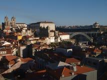 Vista del classico di Oporto Immagini Stock Libere da Diritti