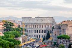 Vista del Colosseum Imagen de archivo libre de regalías