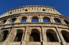 Vista del Colosseum. Roma immagine stock