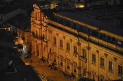 Vista del commissariato di Montalbano Fotografia Stock Libera da Diritti