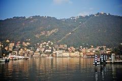 Vista del como, Italia Imágenes de archivo libres de regalías