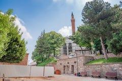 Vista del complesso di Yildirim Bayezid a Bursa, Turchia fotografie stock